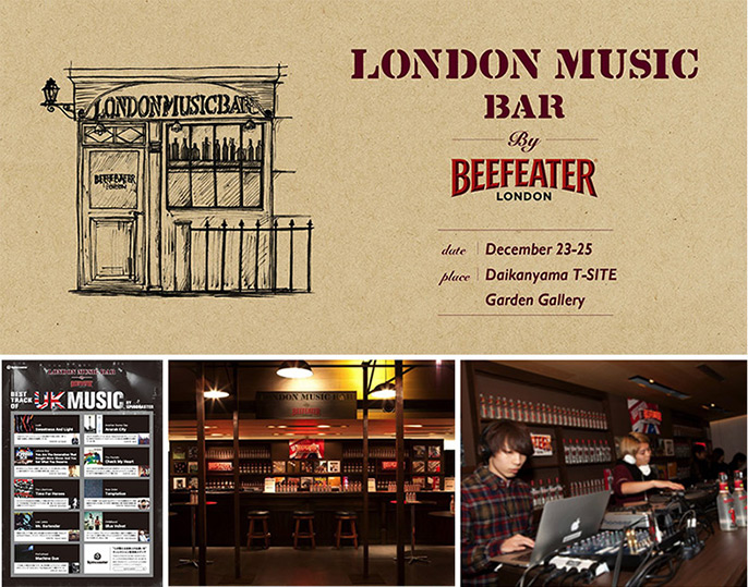 LONDON MUSIC BAR by BEEFEATER